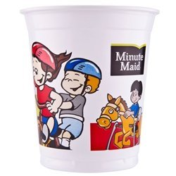 Minute Maid Playground Plastic Kids Cups with Lids/Straws, 12 oz, (500 count)