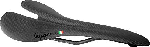 (leggera Carbon Fiber Road Bike Saddle 90g, Rated for 100kg (3K Carbon)
