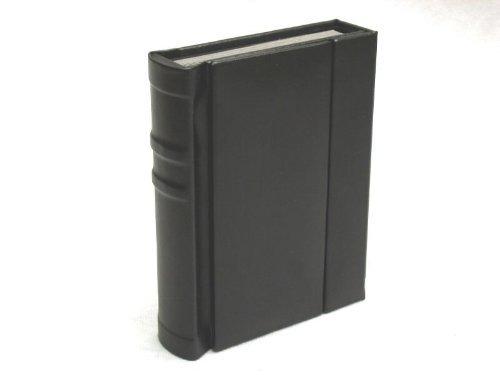 Black 5x7 Self Mount Photo Wedding Album with 30 (Flush Mount Photo Albums)
