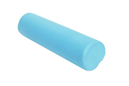 - Essential Medical Supply Round Foam Cervical Roll, Blue, 3.5 Inch