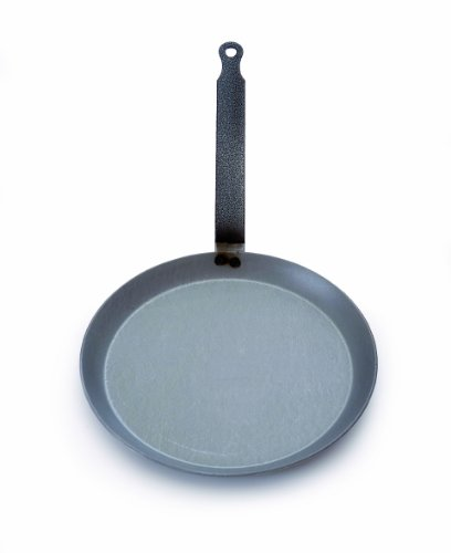 French Steel Crepe Pan - Mauviel M'steel Crepe Pan, 8.75 Inch