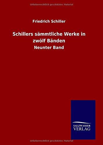Download Schillers sämmtliche Werke in zwölf Bänden (German Edition) pdf
