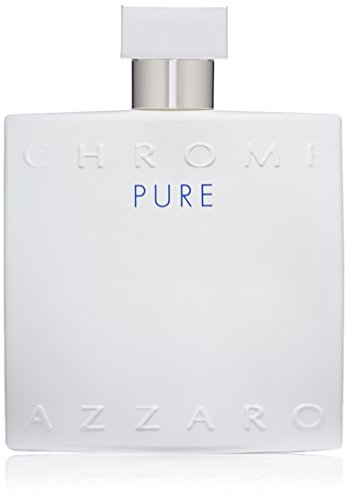 Azzaro Chrome Pure Eau de Toilette Spray, 3.4 Fl Oz