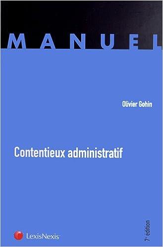 Livres gratuits en ligne Contentieux administratif pdf epub