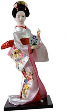 wellcoda Klassisch Geisha Puppe M/änner Tank Top Japan Aktives Sport-Shirt