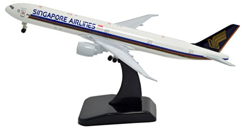 TANG DYNASTY(TM) 1:400 Standard Edition Boeing B777 Singapore Airlines Metal Airplane Model Plane Toy Plane - Tangs Singapore