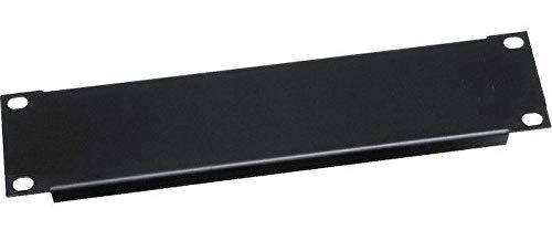 (Middle Atlantic Products HRBL1 - Half Rack 1U Black Panel, Black)
