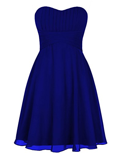 Gasa Fiesta Dama De Formal Real Novio Gala Honor Corto Huini Boda Azul Vestidos Trajes AqnxEAat