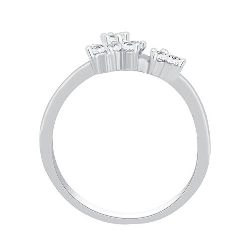 Giantti 14carats Diamant Pendentif Femme Collier (0.107CT, VS/Si-clarity, Gh-colour)