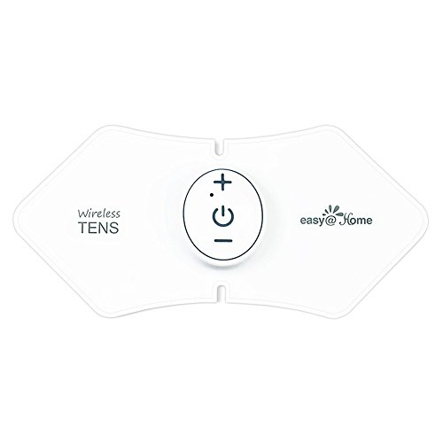 Easy@Home Wireless Rechargeable TENS Unit, Muscle Stimulator and Pain Relief TENS Pulse Massager, EHE016 - FDA for OTC approved Pain Relief Therapy Device