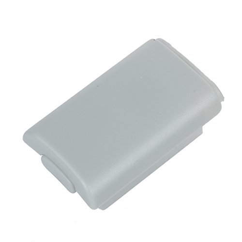 (SODIAL(R) White replacement Battery Shell PACK Case Cover Holder for microsoft XBOX 360 Wireless Controller Game Gamepad)