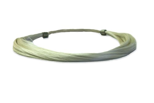[Mia Tonyband-Straight Hair Headband Made of Synthetic/Faux Wig Hair-Blonde Color-Measures Approximately 2