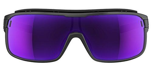 Adidas lunettes AD01zonyk Pro S Coal Mat 6061Viola Mirror