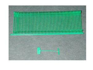 American # 55435, 1'' Green, Standard TG Tacher Fasteners (10000 per Box)