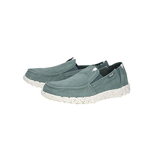 Verde Teal Farty Hombres Shoes Lavado Dude nR7ExXOI