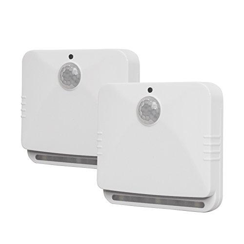 As Seen on TV SBL-MC6 Sensor Brite Motion Activated LED Lights, 2-Pack, White