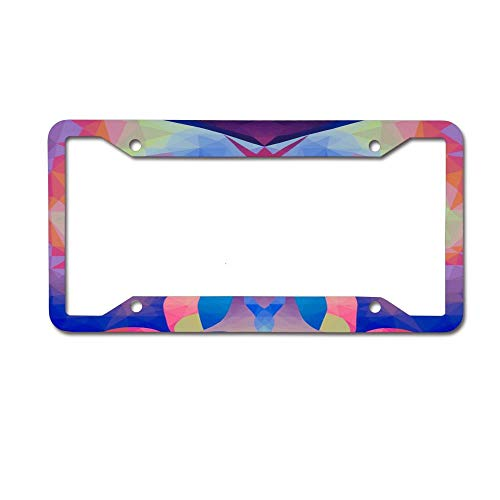 (HappyToiletLidCoverX Goddess Arising Personalized License Plate Frame Art etc.Any State/Any Theme 4 Holes)