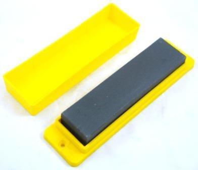 Toolzone 200mm (8'') Quality Blade Sharpening Sharpener Oilstone With Storage Box