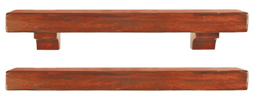 72 inch fireplace mantel shelf - 1