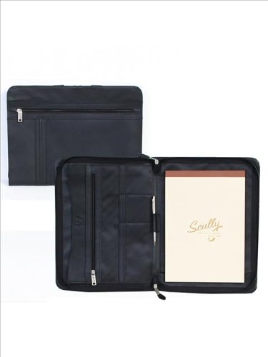 Scully Women's 490 Soft Plonge Leather Zip Envelope (Black) by Scully