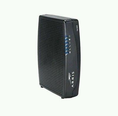 Arris Touchstone TM1602A DOCSIS 3.0 Upgradeable 16x4 Telephony Modem for TWC & OPTIMUM 1 Approved for Time Warner / Spectrum, Cablevision, Optimum, Charter & MORE 16x4 Embedded Multimedia Terminal Adaptor (E-MTA) 24x8 bonded channel cable environment