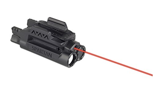 LaserMax SPS-C-R Spartan Adjustable Rail Mounted Fit Laser Light Combo, Red