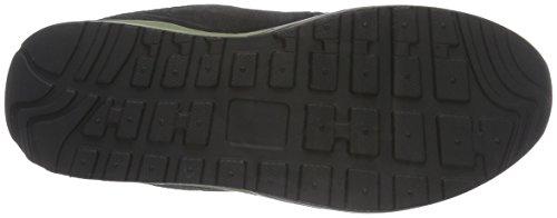 KangaROOS Kanga X 2000 V - Zapatillas Unisex Niños Noir - Schwarz (Black/Olive 582)