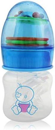 WAAQTT MEIQIGUAN Süße Babyflasche Neugeborene Tassen Kinder Lernen Füttern Trinkgriff Flasche Kinder Strohsaft Wasserflaschen BPA Free
