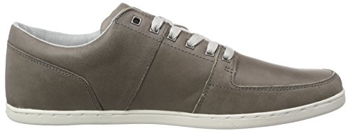 Boxfresh Spencer Icn Lea Mgry/Grif Gry - Zapatillas Hombre Gris - Grau (MED GREY/GRIFFIN GREY)