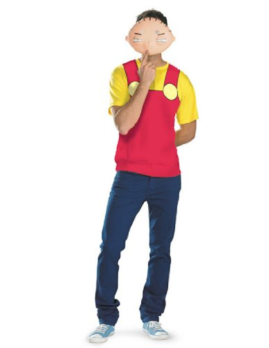 [Disguise Family Guy - Stewie Alternative T-Shirt & Mask Costume (42-46)] (Family Guy Masks Costumes)