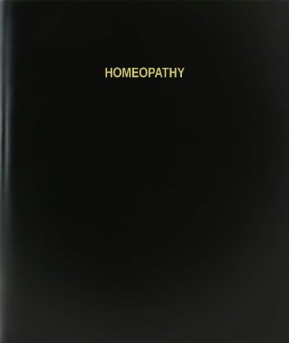 BookFactory Homeopathy Log Book/Journal/Logbook - 120 Page, 8.5