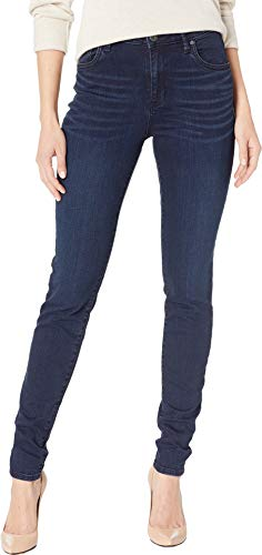 KUT from the Kloth Women's Mia High-Waisted Skinny Jeans in Premier Permier/Euro Base Wash 4 31