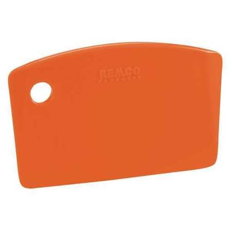 Mini Bench Scraper, Polypropylene, Orange (Pack of10) by Remco