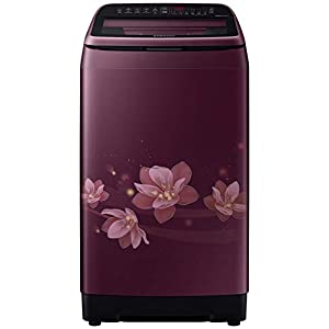 Samsung 6.5 Kg Inverter 5 star Fully-Automatic Top Loading Washing Machine (WA65N4571FM/TL, Magnolia Plum, ActivWash+)