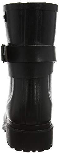 Aigle Macadames Noir Wellington Mid Boots Fur Black Women's BHrqB7