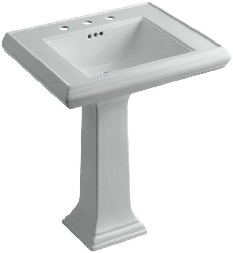 KOHLER K-2258-8-95 Memoirs Pedestal Bathroom Sink with 8