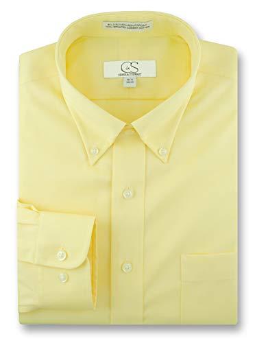 all Mens Non-Iron Button Down Pinpoint Oxford Shirt ()