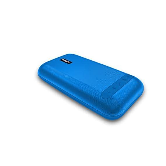 (Renewed) Philips BT3901A Wireless Portable Speakers (Blue)
