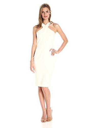 LIKELY Women's Carolyn Dress, White, 6 (Dress Wedding White Sheath)