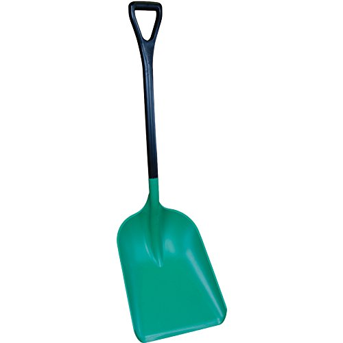 - Remco 6985SS Green Polypropylene Industrial Safety Shovel, 46