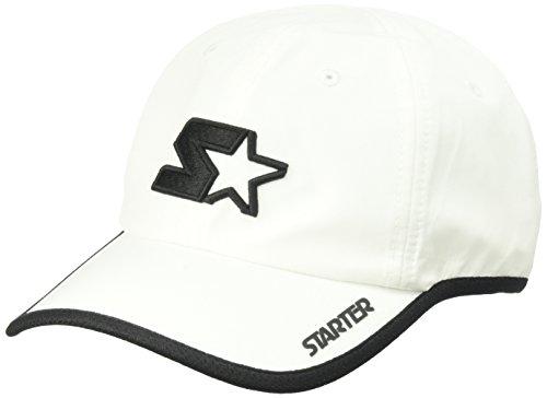 Starter Men's Lightweight Performance Running Cap, Amazon Exclusive, White, One Size