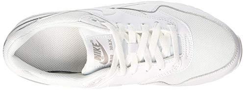 Da Bambino Max Air Gs 1 Unisex Scarpe Nike White Running XFRSHH