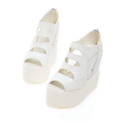 Bout AdeeSu EU SLC04059 Blanc Ouvert 5 Femme Blanc 36 zwHqpxwRP