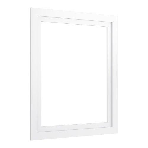 (KOHLER K-99661-24-1WA Jacquard Medicine Cabinet Surround, 24-Inch, Linen White)