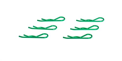 (EDS Racing Products Body Clips for 1/8 Scale (Metallic Green) (6pcs))