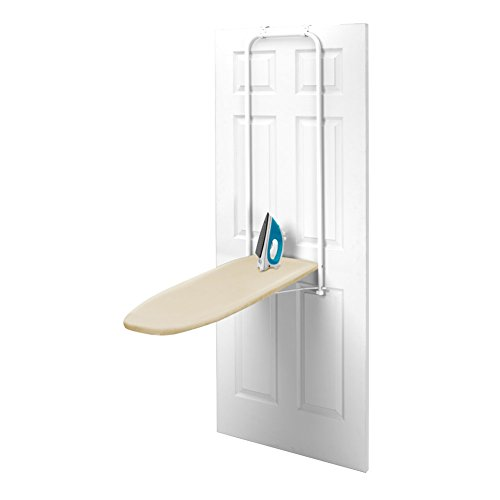 Homz Over-The-Door Ironing Board 42'' L X 14'' W Blue by HPI