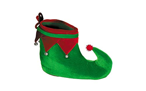 Elf Fabric Shoes | Christmas Party Costume