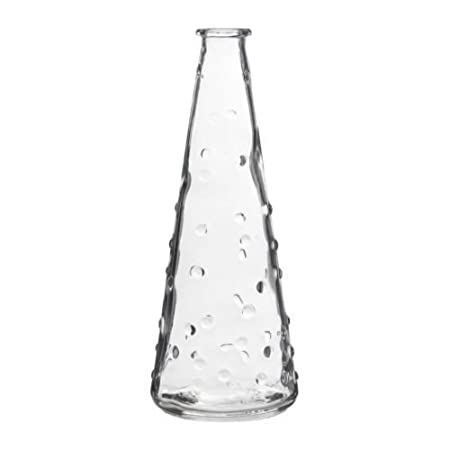 Ikea Vasen ikea snartig vase clear glass 18 cm amazon co uk kitchen home