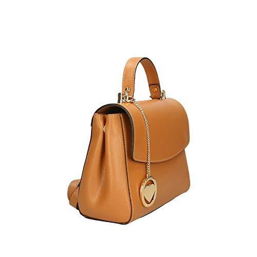 A Cuoio Made Chicca Borse Pelle Bag 29x20x9 Italy Mano Cm Borsa In zzPq78rw