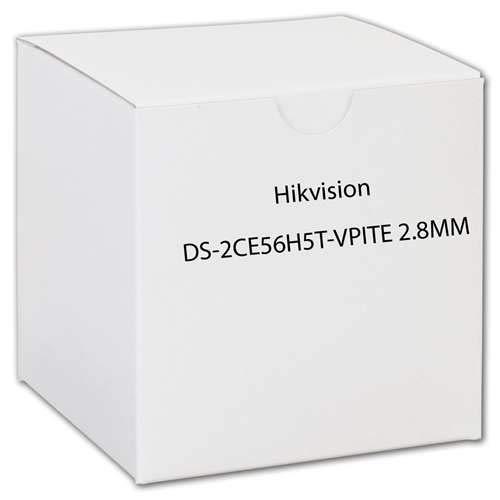 Hikvision DS2CE56H5TVPITE2.8MM cm DS-2CE56H5T-VPITE 2.8 mm 5Mp Tvi Ir Outdoor Dome Retail